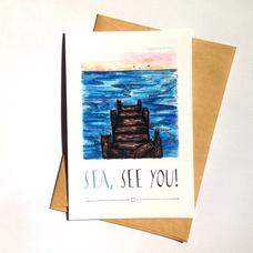 "Открытка ""Sea, see you"""