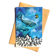 """Открытка """"Whale"""""""