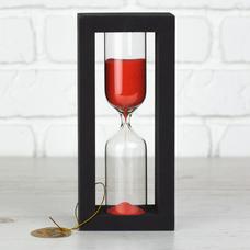 """Песочные часы """"Black-Red"""" на 30 минут"""