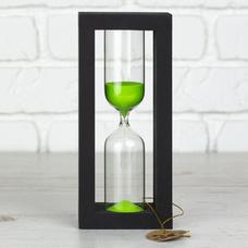 """Песочные часы """"Black-Green"""" на 30 минут"""