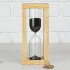 """Песочные часы """"Nature-Black"""" на 30 минут"""