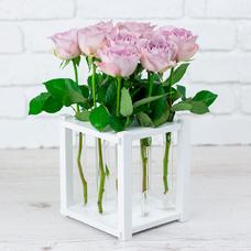 "Подставка под цветы ""White"" (9 пробирок)"