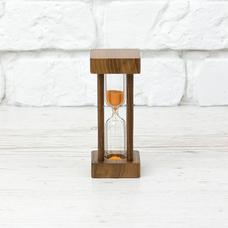 """Песочные часы """"Orange - Walnut"""" на 1 минуту"""