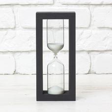 """Песочные часы """"Black-White"""" на 15 минут"""