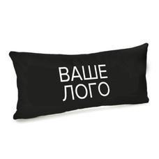 Подушка с брендированием 50х24 см, бархат