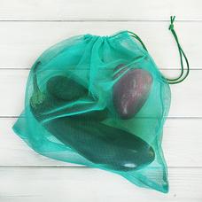 Эко-мешочки для фасовки, бирюзовые