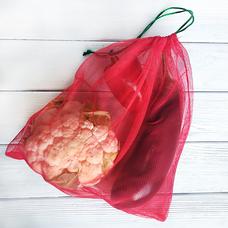 Эко-мешочки для фасовки, красные