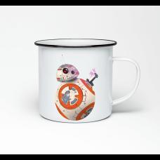 """Эмалированная кружка """"BB-8"""""""