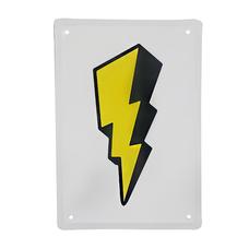"""Металлическая табличка """"Flash"""""""