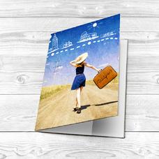"Обложка на паспорт ""Путешествие"""