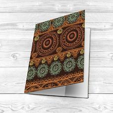 "Обложка на паспорт ""Brown pattern"""