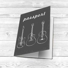 """Обложка на паспорт """"Guitars"""""""