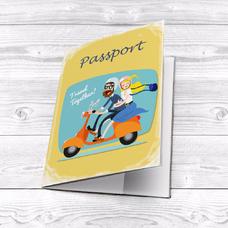 """Обложка на паспорт """"Travel together"""""""
