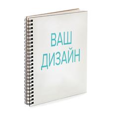 Скетчбук со своим дизайном, прямоугольный