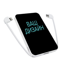 Внешний аккумулятор PowerBank 5000 mAh | со своим дизайном