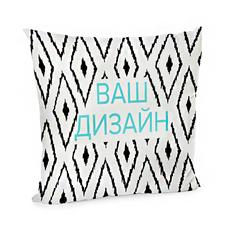 Подушка (бархат) 45х45 см | со своим дизайном