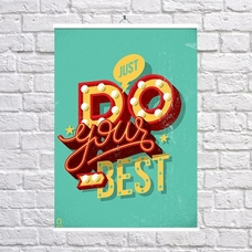 "Постер ""Do your best""— уценка"