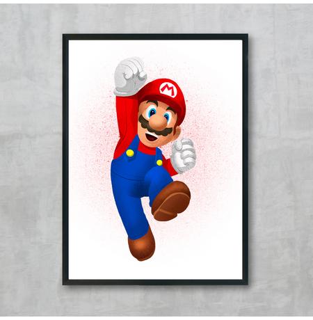"""Постер """"Марио"""""""