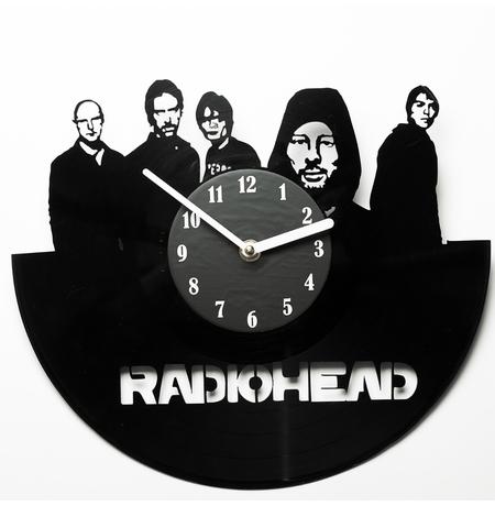 """Виниловые часы """"Radiohead"""""""