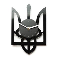 """Виниловые часы """"Тризуб"""""""