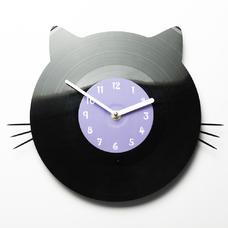 """Виниловые часы """"Котя"""""""