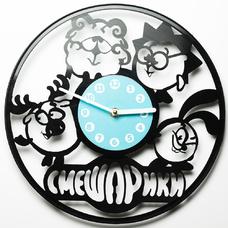 """Виниловые часы """"Смешарики"""""""