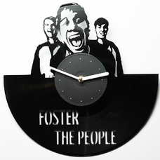"Виниловые часы ""Foster the People"""