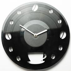 "Виниловые часы ""Coffee time"""