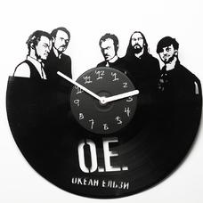 """Виниловые часы """"Океан Ельзи"""""""