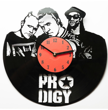 """Виниловые часы """"Prodigy"""""""