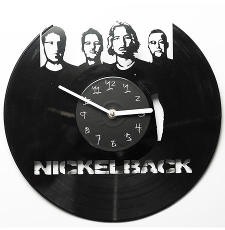 "Виниловые часы ""Nickelback"""
