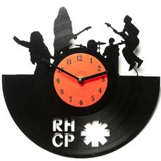 """Виниловые часы """"RHCP"""""""