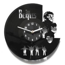 """Виниловые часы """"The Beatles. Portraits"""""""