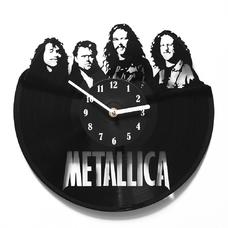 """Виниловые часы """"Metallica"""""""