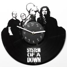 "Виниловые часы ""System of a down"""