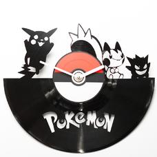 """Виниловые часы """"Pokemon"""""""