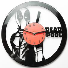 """Виниловые часы """"Deadpool"""""""