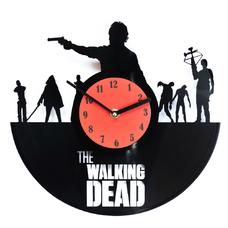 "Виниловые часы ""The Walking Dead"""
