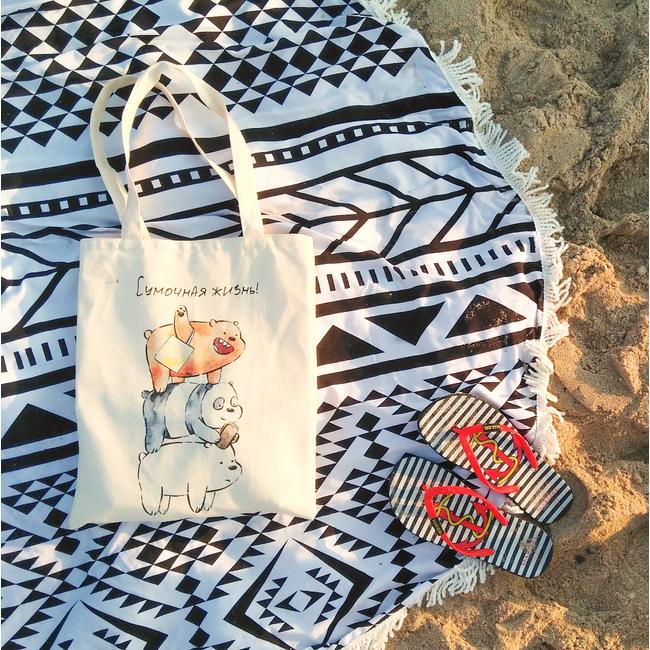 Эко-сумка с принтом