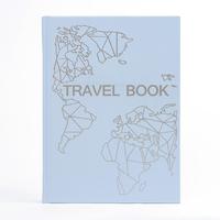 Блокнот Travel book. Планер путешествий, голубой