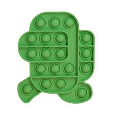 Pop It Антистресс- зелёный Амонг Ас бегущий