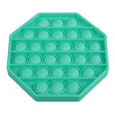 Pop It Антистресс- бирюзовый восьмиугольник