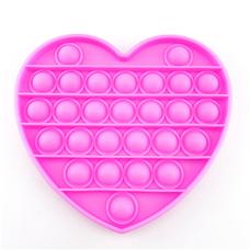 Pop It Антистресс- розовое сердце