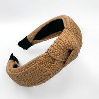 Плетеный обруч, широкий