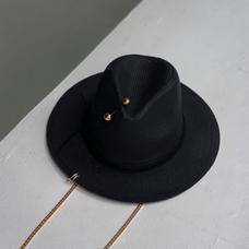 Шляпа-федора, чёрная