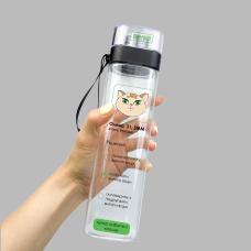 Бутылка для воды, кошка