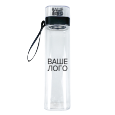 Бутылка для воды с брендированием, 700 мл