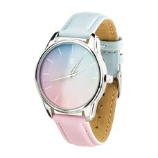 """Наручные часы """"Розовый кварц и безмятежность"""" (+розовый ремешок)"""