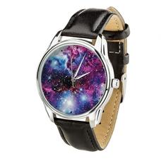 """Наручные часы """"Галактика"""" (+серебряный ремешок)"""