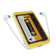 "Внешний аккумулятор PowerBank 5000 mAh ""Кассета"""
